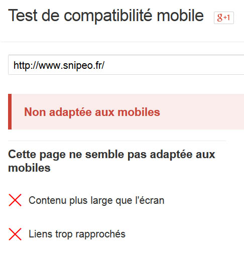 mobile friendly fail